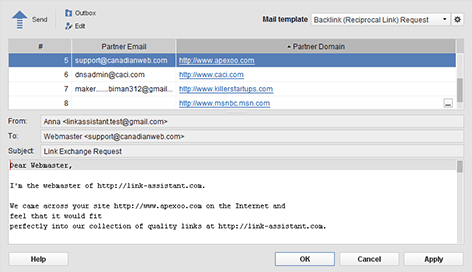 LinkAssistant Mail Server
